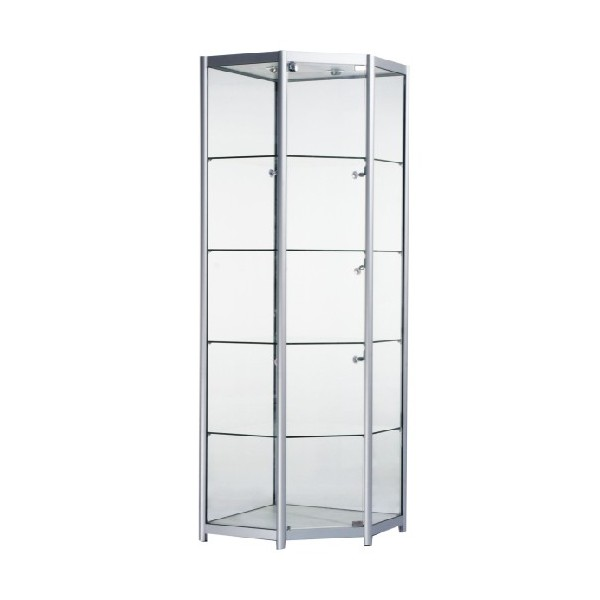 glass display cabinet for perfume bottles