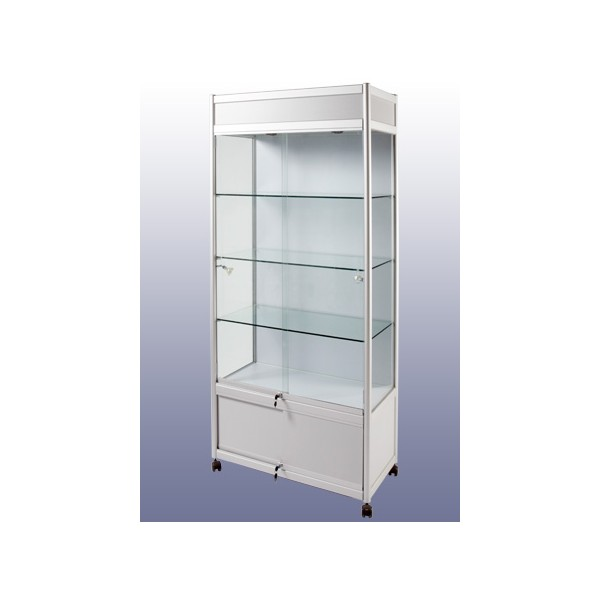glass display cabinet case