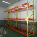 warehouse storage rack labeling