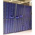 parts cabinet bins model