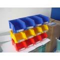 plastic storage bin shelves