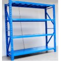 Adjustable warehouse shelf