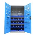 plastic bin cabinet