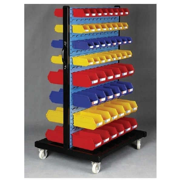 storage bin trolley cart