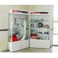 elegant glass showcases design