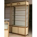 glass cigarette display Showcase cabinet