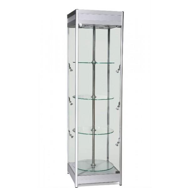 rotating display case