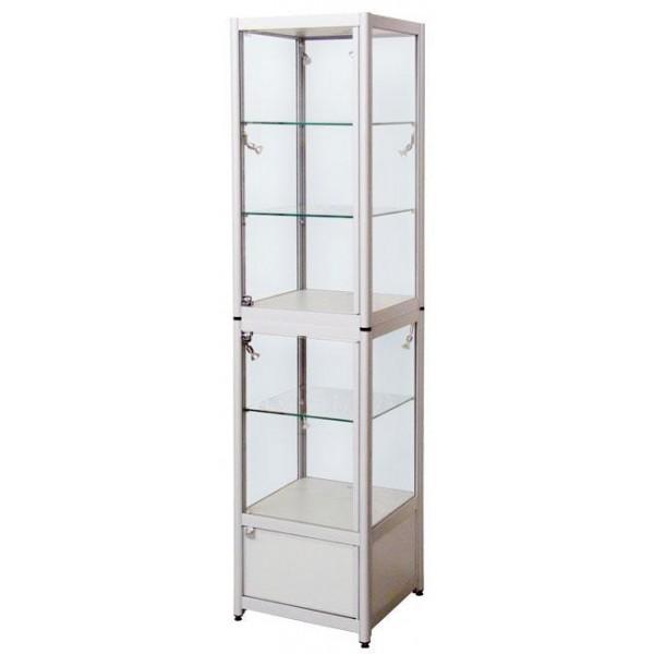 aluminum glass showcase,glass display showcase
