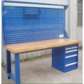 heavy duty worktable with drawers