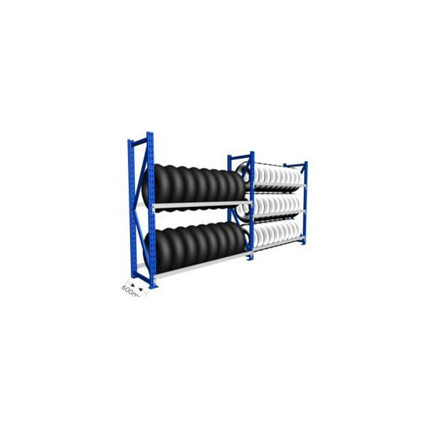 warehouse tire rack