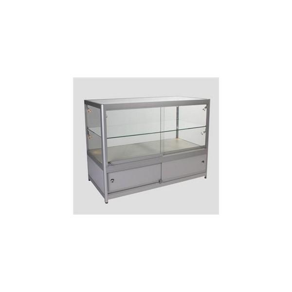 Aluminium display counter