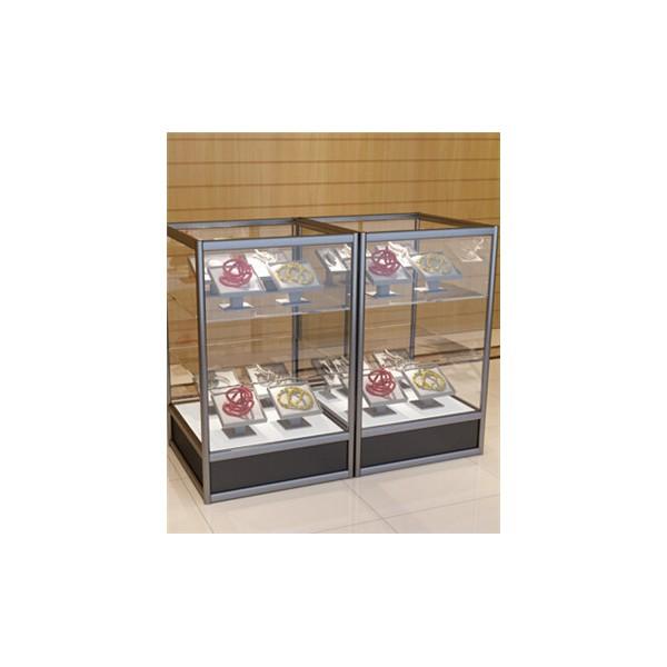 glass Exhibition case