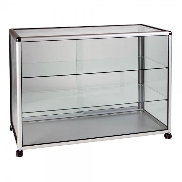 aluminium display cabinet showcase shelves