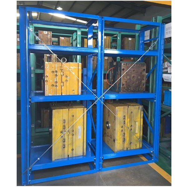 Injection Mold Storage Racks & Die Roll Out Racks
