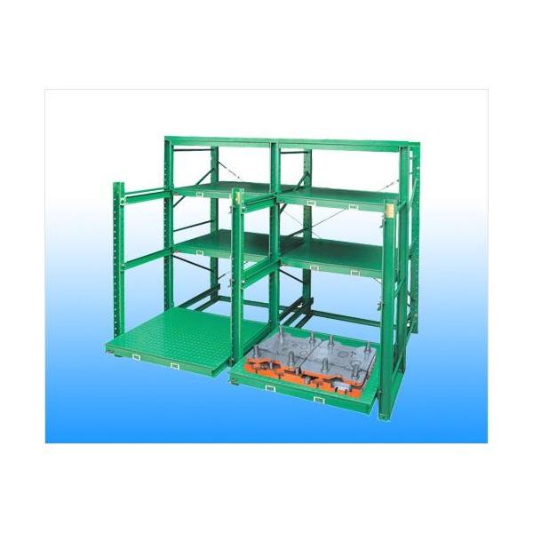 Adjustable Drawer die rack & tool shelves