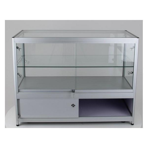 2017 Hot Glass Door Display Cabinet