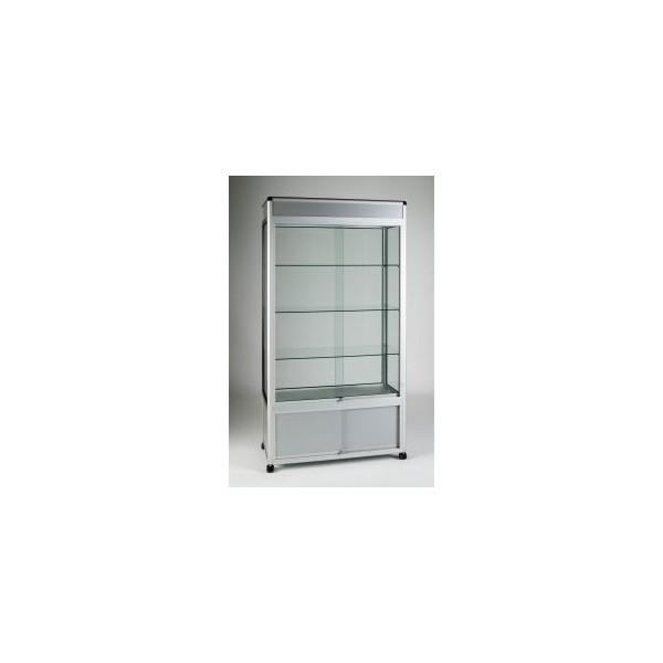 High quality aluminium showcase display manufacturer