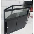 Foldable display counter