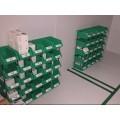 warehouse plastic storage bins