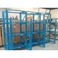 plastic injection mold racking