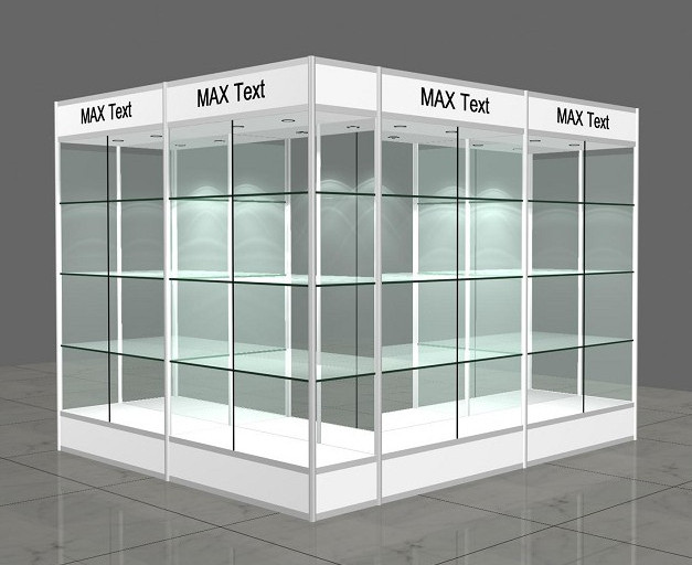 aluminium glass display showcase design - Top-notch Metal&Plastic ...